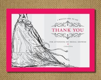 PRINTABLE | THANK YOU - Bridal Shower