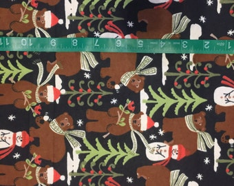Christmas Flannel HALF YARD