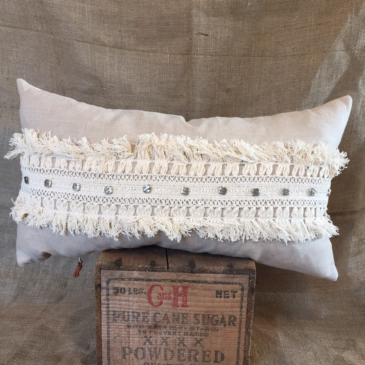 Decorative Pillows With Fringe Part - 19: ?zoom