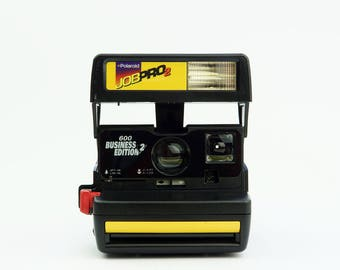 POLAROID Camera 600 Job Pro 2 Business Edition 2 Yellow - *Discount Impossible Project 600 Colour Instant film Pack offer with this Camera*
