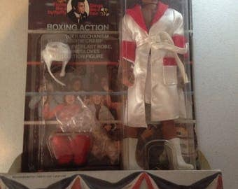 Mohammad Ali doll in orinal box and container 1979 check this price to ebay