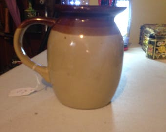Vintage brown pitcher
