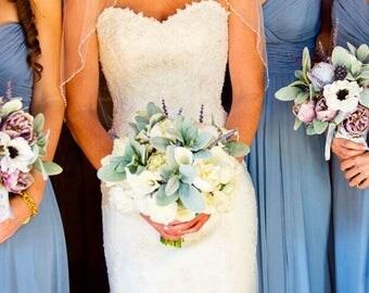 Custom Bridesmaids Bouquets