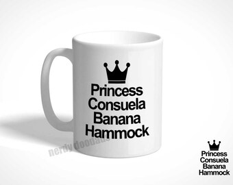 FRIENDS Inspired Coffee Mugs, Princess Consuela Banana Hammock, Crap Bag, Funny Friends Quotes, Friends Coffee Mug, Couples Gift