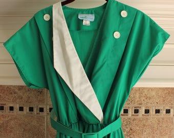 1950s Green Day Dress