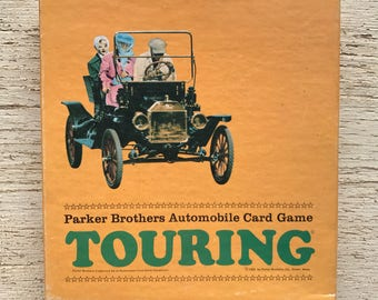 Touring--Automobile Card Game Parker Brothers 1965