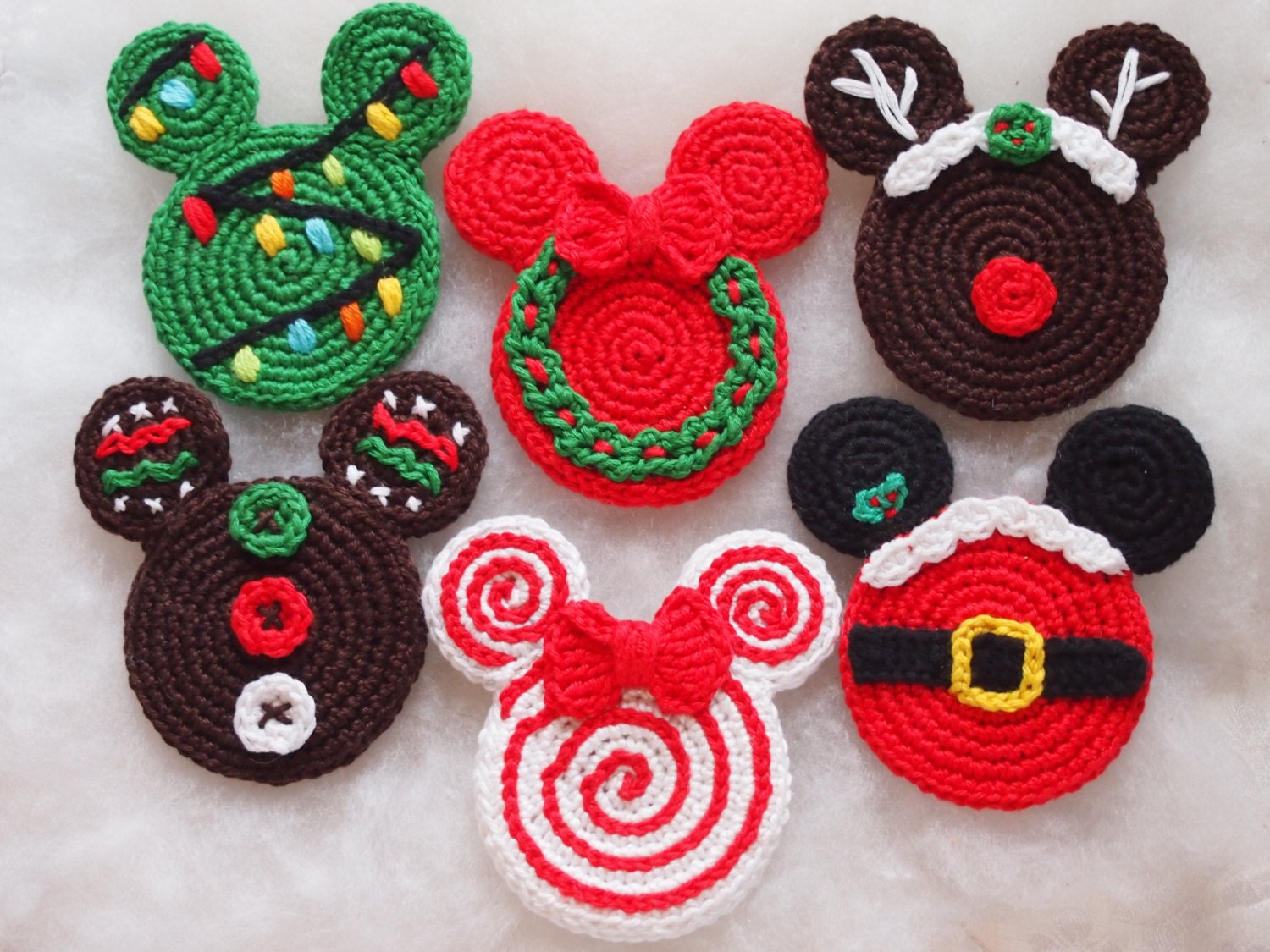 Mickeyminnie mouse christmas crochet pattern christmas zoom bankloansurffo Choice Image