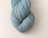 Sock Hand Dyed Australian 80/20 Merino nylon Revelry Sock Fingering 4 ply Knitting Yarn Leaden Flycatcher