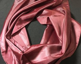 Maroon Scarves  By Vera Neumann 1960's Rectangular Scarf