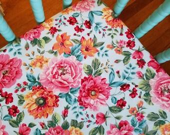 Floral Rose Crib Sheet baby bedding