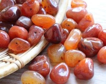 Carnelian Tumbled Stones