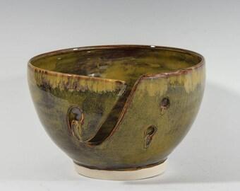 Yarn Bowl/ porcelain wheel thrown knitting bowl/ handmade ceramic bowl/ crochet/ gift/yarn fans gift/ pottery
