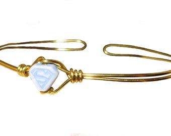 Superman Ring - Supergirl - Bracelet - Gold or Silver