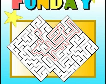 Sunday Funday Activity Booklet