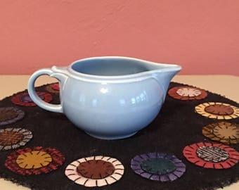 Vintage Blue Luray Creamer