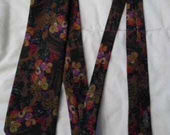 Reine seide silk tie , vintage German tie