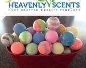 Fruity Bath Bombs Lot of 18 (2.0 oz) LUSH Type Various Fragrances Gifts Favors