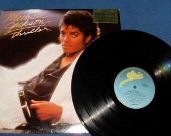Michael Jackson- 'Thriller'- 80's-Vinyl- L.P