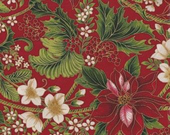 Holiday Flourish 9 - Per Yd - Robert Kaufman - Peggy Toole - Gorgeous!!