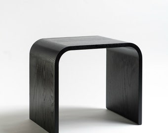 Sidetable ash black, solid