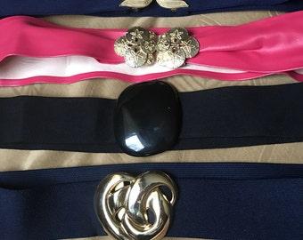 1980's belts- choose from four- listing per belt