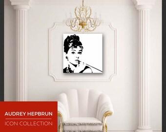 Pop Art, Painting, AUDREY HEPBURN
