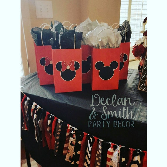 Mickey Mouse party favors Minnie Mouse party favors Mickey Mouse