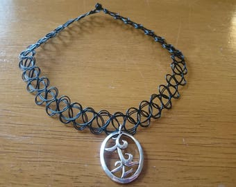 Rune choker necklace