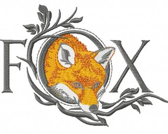 FOX WORD - Machine Embroidery Design