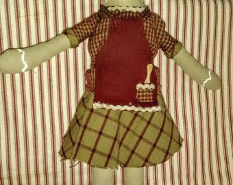 A Ginger Bread Doll