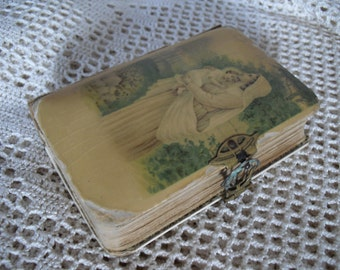 Beautiful, antique old German prayer book