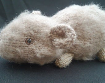 Knitted Guinea Pig