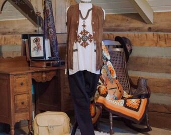 Vintage 1970's bohemian ethnic tunic
