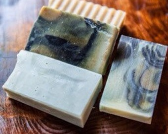 Soap Sampler.  Perfect as guest soap, travel size soap, wedding favor.  Party Favor.  Available for wholesale purchase