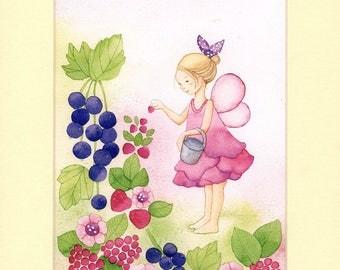 Fairy Print, Fairy Room Decor,Fairy Wall Decor, Fairy Nursery Decor, Fairy wall Art