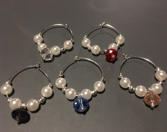Sale!! Wine Glass Charms