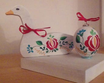 Easter decoration hand painted