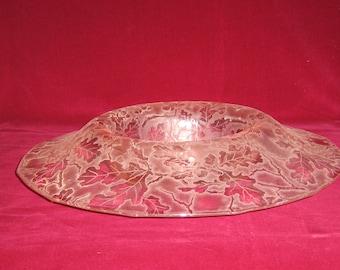 Fostoria Oakleaf Brocade Bowl