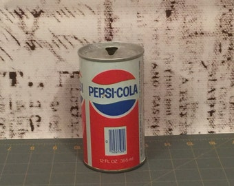 Vintage 1970's Pepsi Can