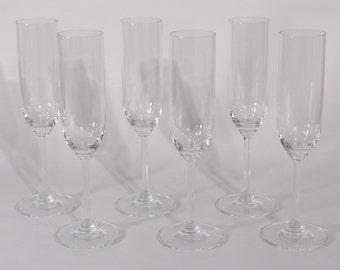 Riedel Champagne Flutes-Set of 6