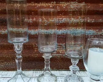 Tall Glass Vases For Centerpieces, Clear Vases, Wedding Vases, Flower Vases