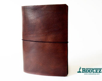 A5 travelers notebook vintage brown -midori - fauxdori
