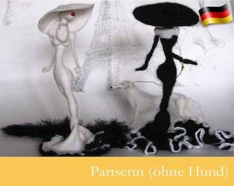 032DE Häkelanleitung - Pariserin Amigurumi PDF Pertseva Etsy