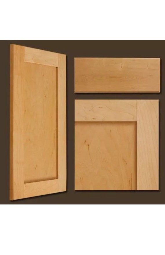 Maple Unfinished shaker style drawer front