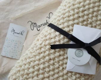Alpaca Wool Baby Blanket: Alpaca wool baby blanket