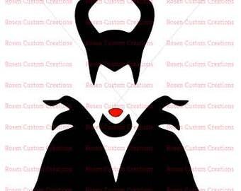 Maleficent SVG