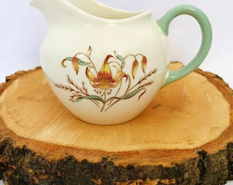 Vintage Wedgwood Tiger Lily Milk Jug