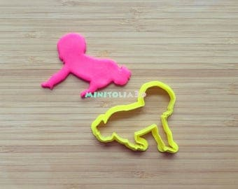 Crawling Baby Cookie Cutter