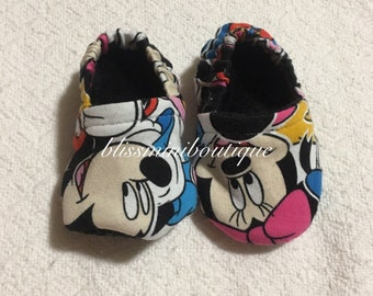 Disney Soft sole, baby shoe , crib shoe 9-12m
