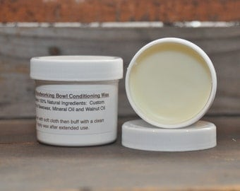 VK Woodworking Bowl Conditioning Wax - All Natural Ingredients